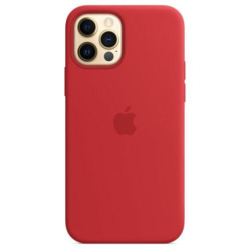 Etui APPLE Silicone Case do iPhone 12 Pro Max Czerwony