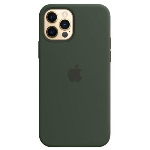 Etui APPLE Silicone Case do iPhone 12 Pro Max Cypryjska zieleń