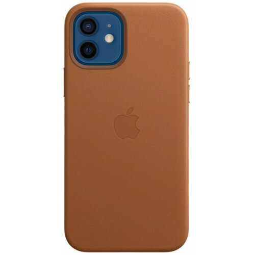 Etui APPLE Leather Case MagSafe do iPhone 12/12 Pro Naturalny brąz