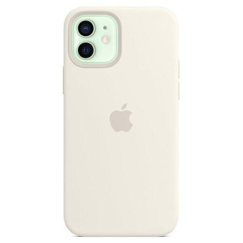 Etui APPLE Silicone Case do iPhone 12 mini Biały