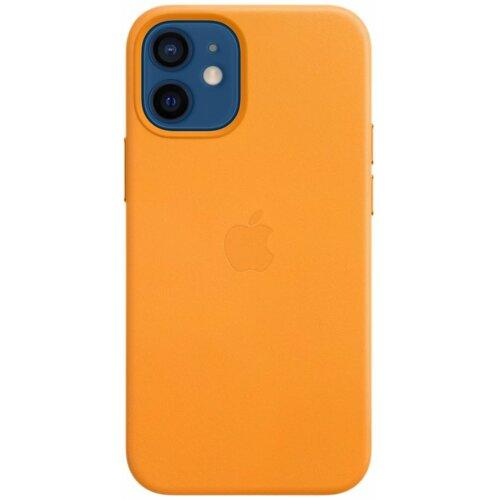 Etui APPLE Leather Case MagSafe do iPhone 12 mini Kalifornijski mak