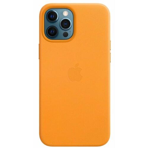 Etui APPLE Leather Case MagSafe do iPhone 12 Pro Max Kalifornijski mak