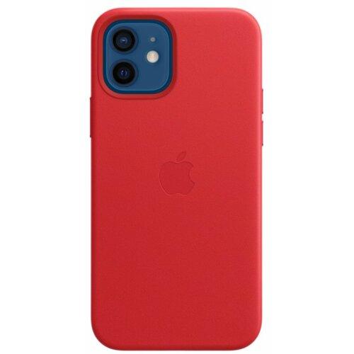 Etui APPLE Leather Case MagSafe do iPhone 12/12 Pro Czerwony