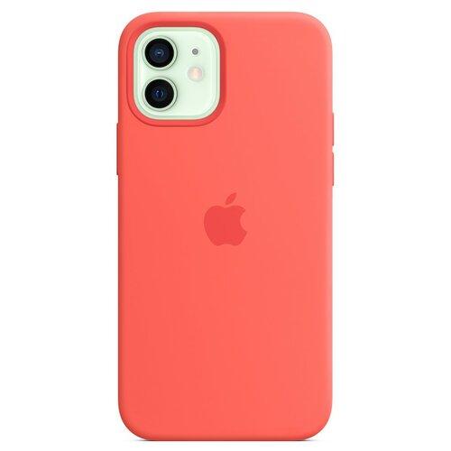 Etui APPLE Silicone Case do iPhone 12 mini Różowy cytrus