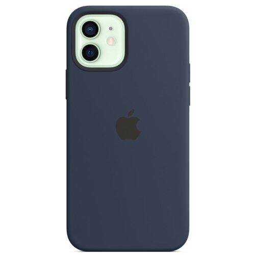 Etui APPLE Silicone Case do iPhone 12 mini Głęboki granat