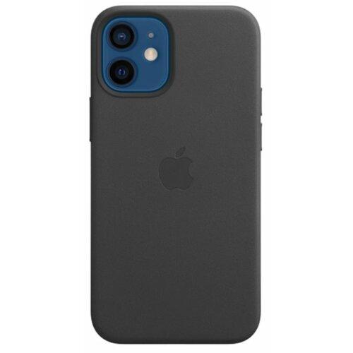 Etui APPLE Leather Case MagSafe do iPhone 12 mini Czarny