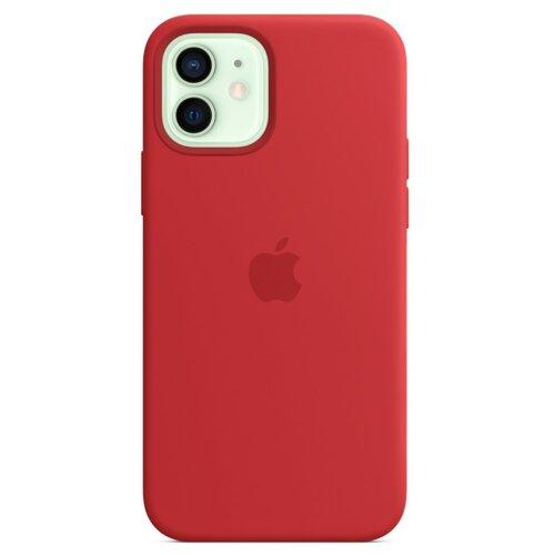 Etui APPLE Silicone Case do iPhone 12/12 Pro Czerwony