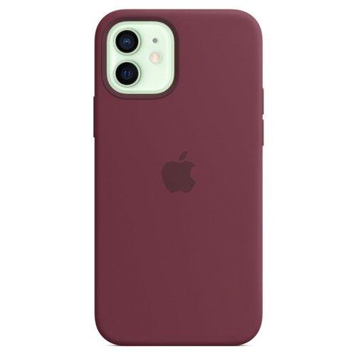Etui APPLE Silicone Case do iPhone 12 mini Dojrzała śliwka