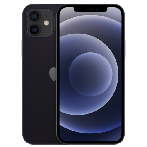 "Smartfon APPLE iPhone 12 mini 256GB 5G 5.4"" Czarny MGE93PM/A"