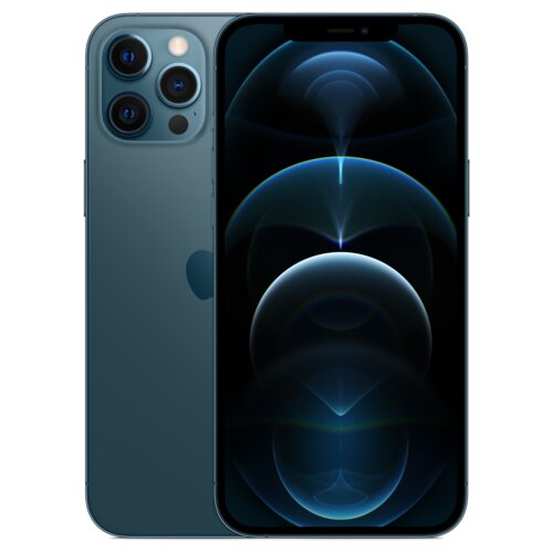 "Smartfon APPLE iPhone 12 Pro Max 256GB 5G 6.7"" Pacyficzny MGDF3PM/A"