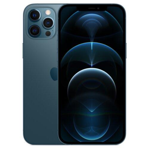 "Smartfon APPLE iPhone 12 Pro Max 128GB 5G 6.7"" Pacyficzny MGDA3PM/A"