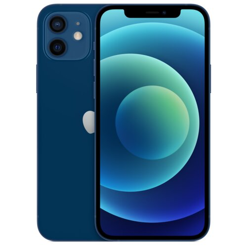 """Smartfon APPLE iPhone 12 64GB 5G 6.1"""" Niebieski MGJ83PM/A"""