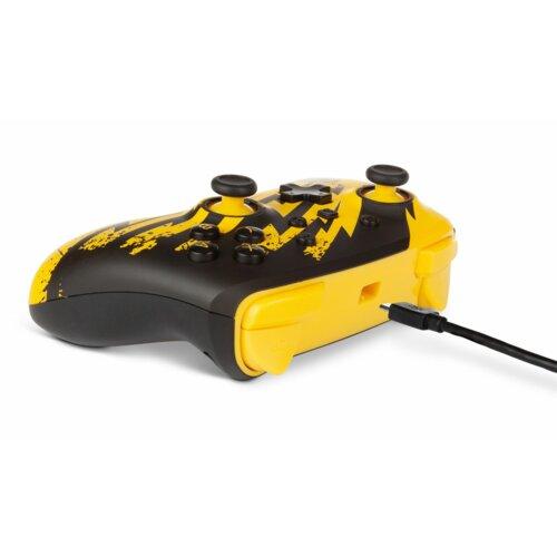 Kontroler POWERA Pokemon Lightning Pikachu Czarno-żółty