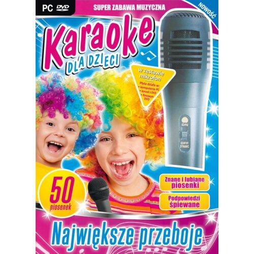 Karaoke dla Dzieci - Największe Przeboje + Mikrofon Gra PC
