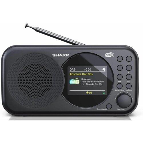 Radio SHARP DR-P320 Czarny