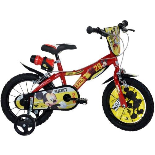 Rower dziecięcy DISNEY Myszka Miki 14 cali dla chłopca