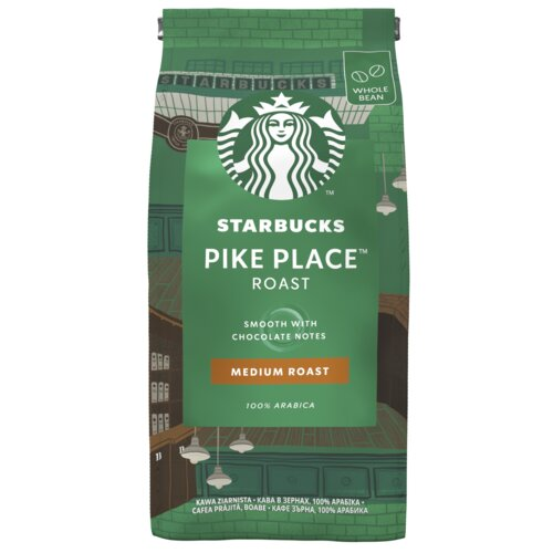 Kawa ziarnista STARBUCKS Pike Place Arabica 0.2 kg