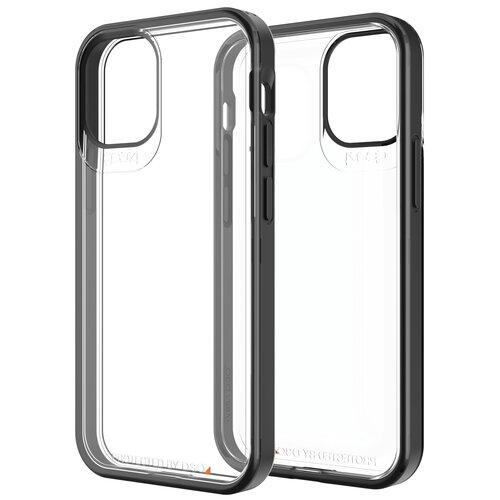 Etui GEAR4 Hackney 5G do Apple iPhone 12 Mini Przezroczysto-czarny