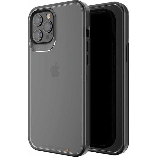 Etui GEAR4 Hackney 5G do Apple iPhone 12 Pro Max Przezroczysty-czarny