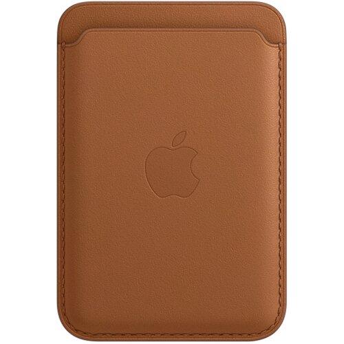 Skórzany portfel APPLE MagSafe do Apple iPhone 12 Brązowy