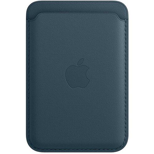 Skórzany portfel APPLE MagSafe do Apple iPhone 12 Niebieski