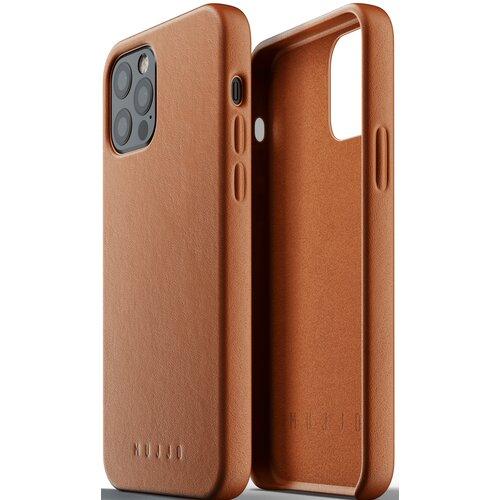 Etui MUJJO Full Leather Case do Apple iPhone 12/12 Pro Brązowy