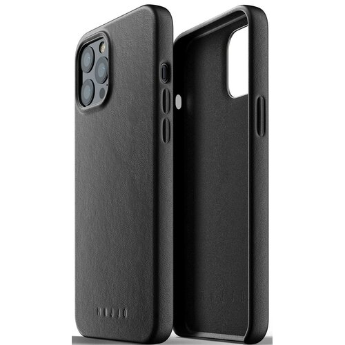 Etui MUJJO Full Leather Case do Apple iPhone 12 Pro Max Czarny