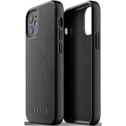Etui MUJJO Full Leather Case do Apple iPhone 12 mini Czarny