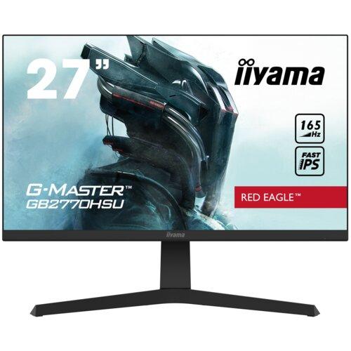 """Monitor IIYAMA G-Master GB2770HSU 27"""" 1920x1080px IPS 165Hz 0.8 ms"""