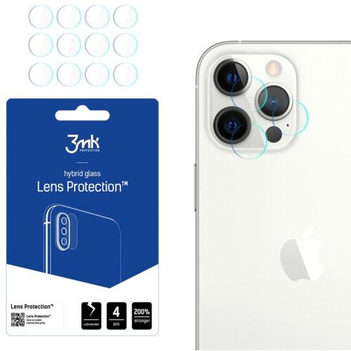 Szkło hybrydowe 3MK Lens Protection do Apple iPhone 12 Pro Max