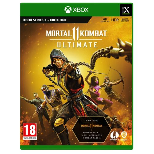 Mortal Kombat XI Ultimate Gra XBOX SERIES X