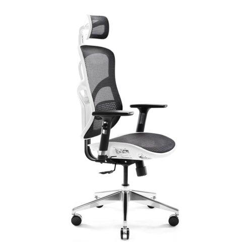 Fotel DIABLO CHAIRS V-Basic Biało-czarny