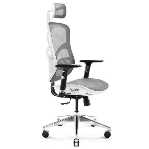 Fotel DIABLO CHAIRS V-Basic Biało-szary