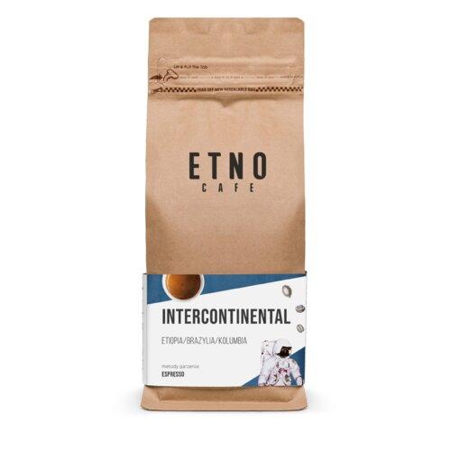 Kawa ziarnista ETNO CAFE Intercontinental Arabica 1 kg