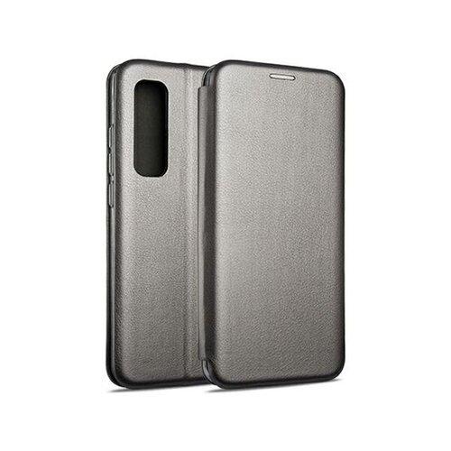 Etui BOOK MAGNETIC do Xiaomi Mi Note 10 Lite Stalowy