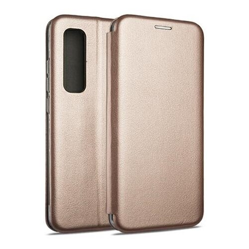 Etui BOOK MAGNETIC do Xiaomi Mi Note 10 Lite Różowo-złoty
