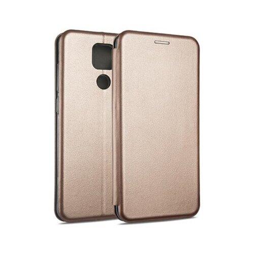 Etui BOOK MAGNETIC do Xiaomi Redmi Note 9 Różowo-złoty