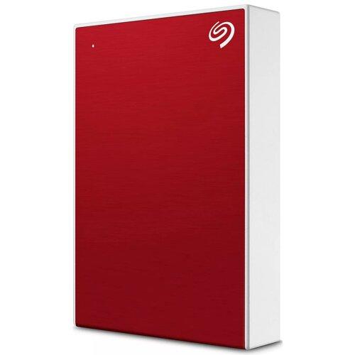 Dysk SEAGATE One Touch 4TB HDD Czerwony
