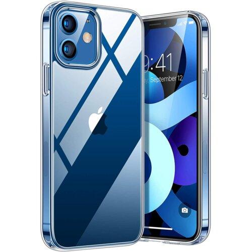 Etui TECH-PROTECT AirFlex do Apple iPhone 12/12 Pro Przezroczysty