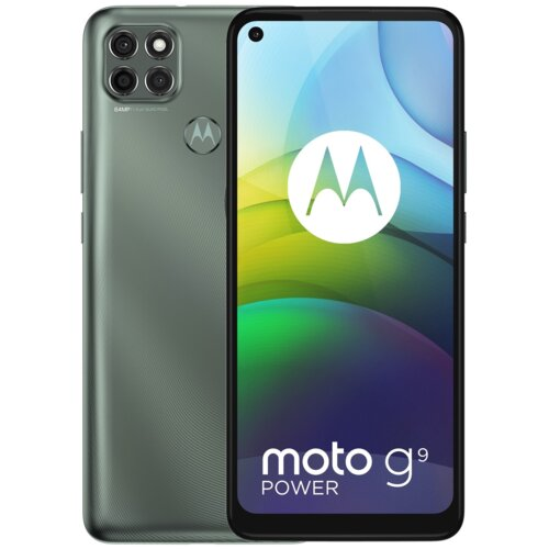 "Smartfon MOTOROLA G9 Power 4/128GB 6.8"" Szary PALR0004PL"