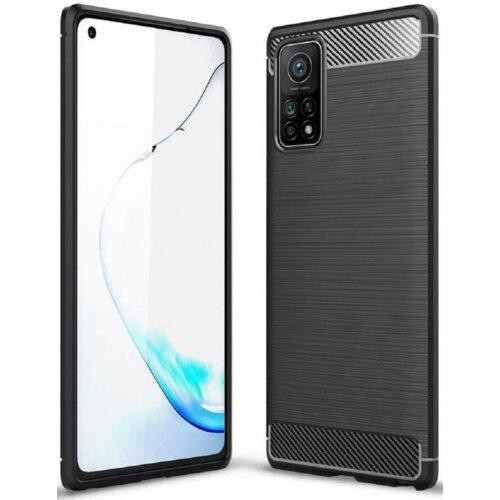 Etui TECH-PROTECT TPUCarbon do Xiaomi Mi 10T/10T Pro Czarny