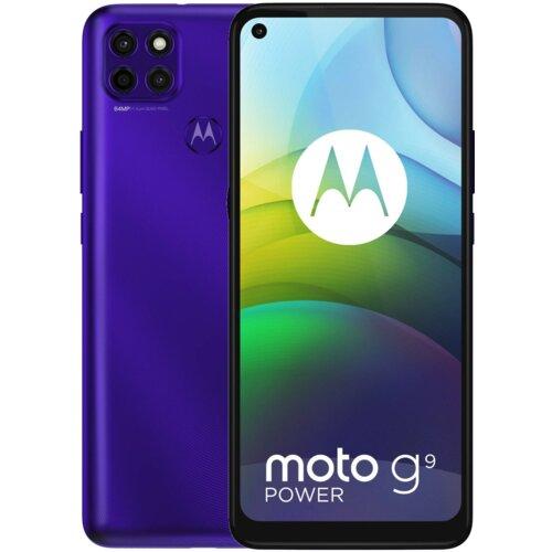 "Smartfon MOTOROLA G9 Power 4/128GB 6.8"" Fioletowy PALR0022PL"
