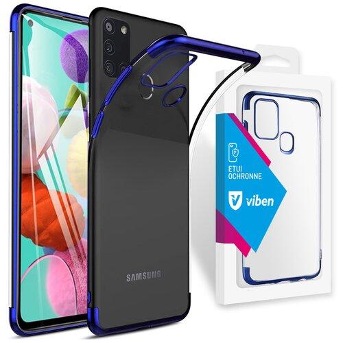 Etui VIBEN do Samsung Galaxy A21s Niebieski