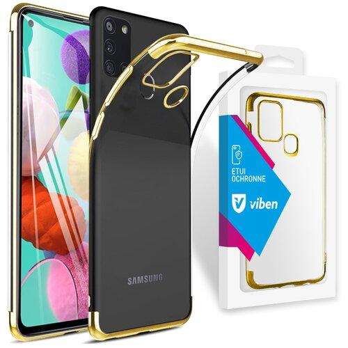 Etui VIBEN do Samsung Galaxy A21s Złoty