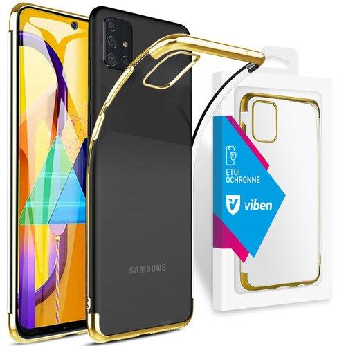 Etui VIBEN do Samsung Galaxy M31s Złoty