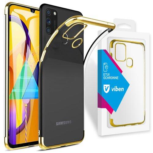 Etui VIBEN do Samsung Galaxy M21 Złoty