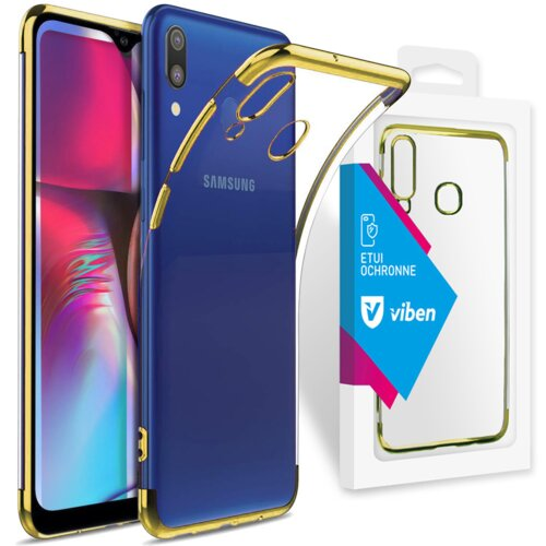 Etui VIBEN do Samsung Galaxy A20e Złoty