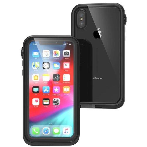 Etui CATALYST Waterproof do Apple iPhone XS Czarny