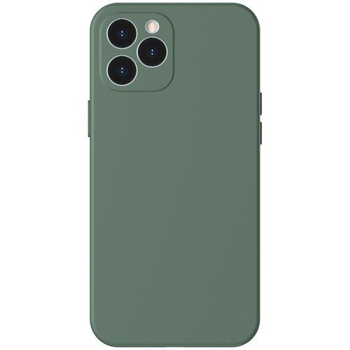 Etui BASEUS Liquid Silica Gel Case do Apple iPhone 12 Pro Zielony