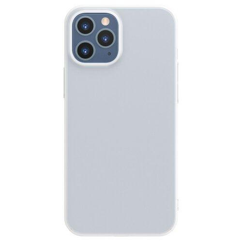 Etui BASEUS Comfort Phone Case do Apple iPhone 12/12 Pro Biały
